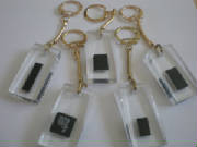 'Recycled' Microchip Keyrings